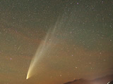 The comet McNaught and the Milky Way (see the photo in its original size on the NASA website)