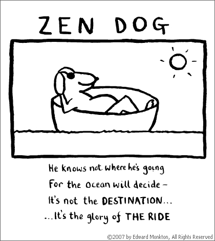 Edward Monkton - Zen Dog