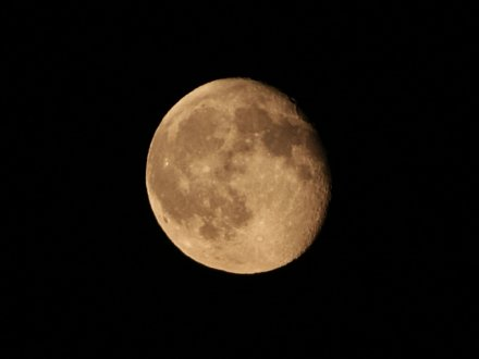 The Moon (as seen by a Canon EOS 350D)