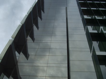 Office building, all grey