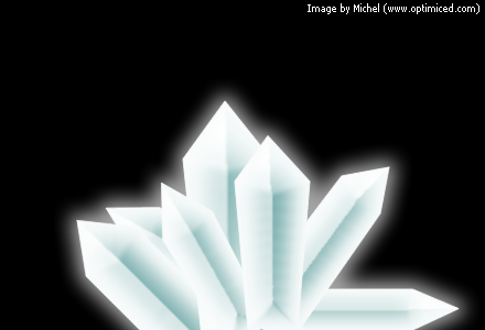 Crystals made with Adobe Fireworks (image 3)