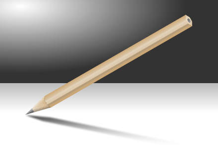 Pencil made with Adobe Fireworks