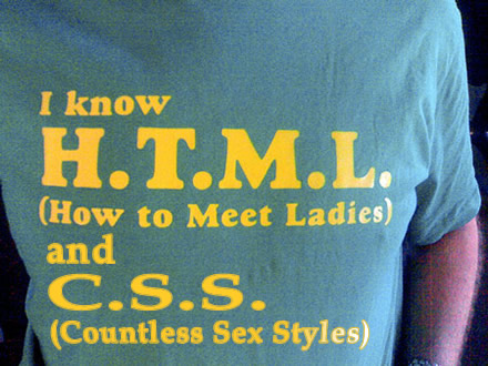 I know HTML & CSS