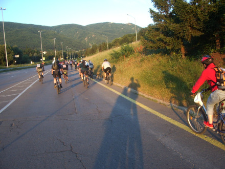 We at the 100 km Vitosha tour 2007