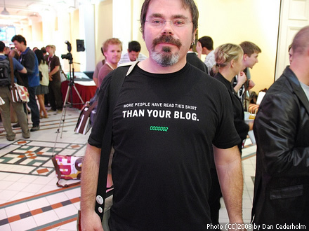funny t-shirt for bloggers