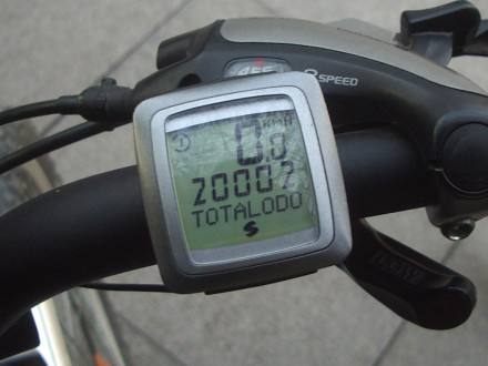 20 002 km with my bikes