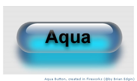 Aqua buttons with Macromedia Fireworks