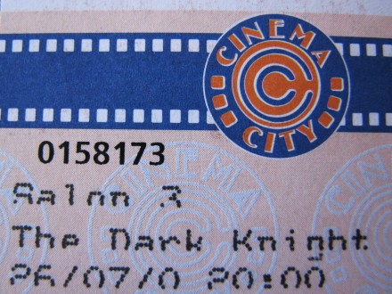 Batman VI: The Dark Knight (tickets)