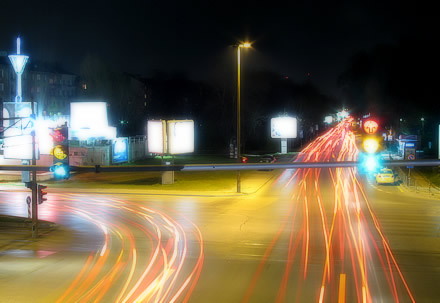 Light Trails (Canon S5 IS)