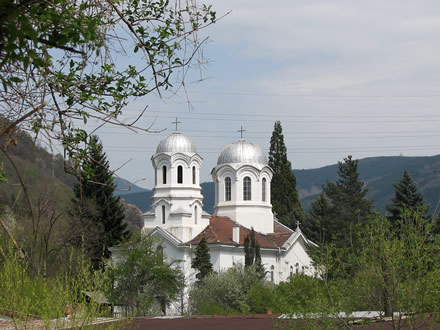 The Svoge church