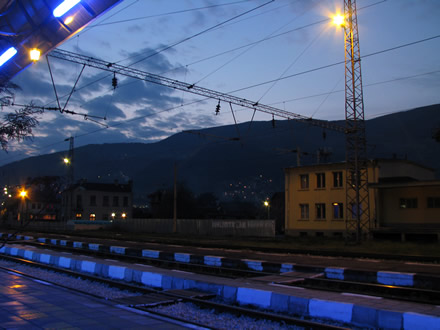 Svoge train station