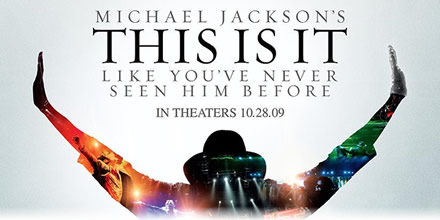 Michael Jacskon, This Is It (movie poster)
