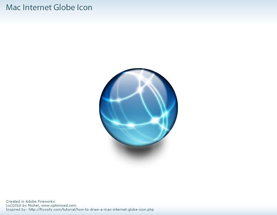 Daily Design (2010-033): Mac Internet Globe Icon ...