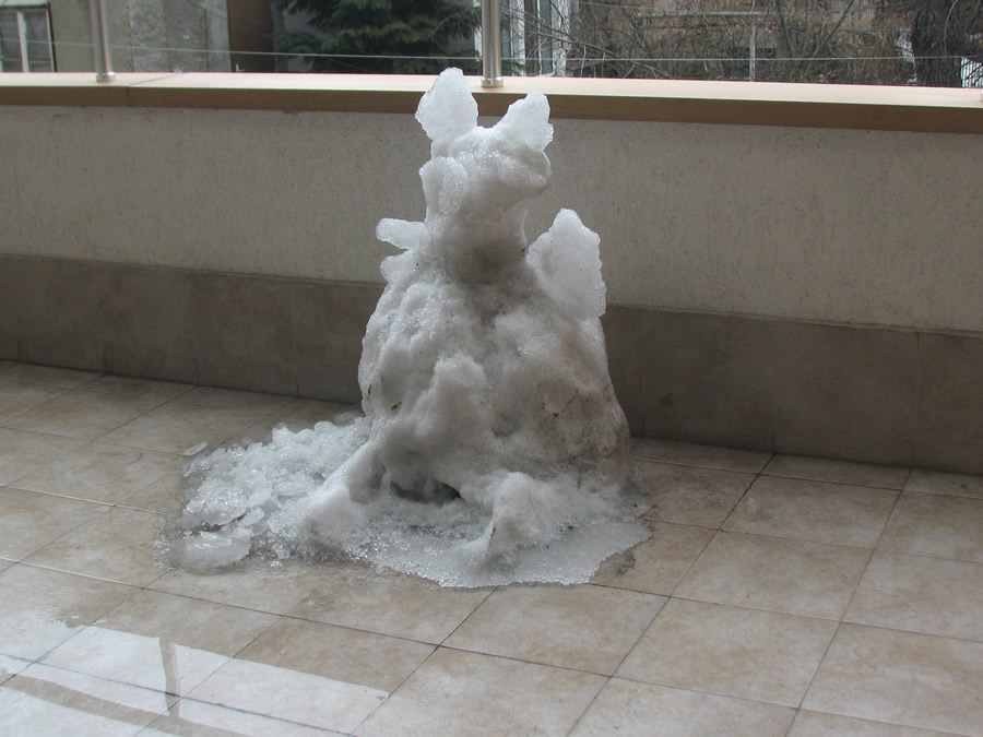 Snow Man and the Winter of 2011-2012