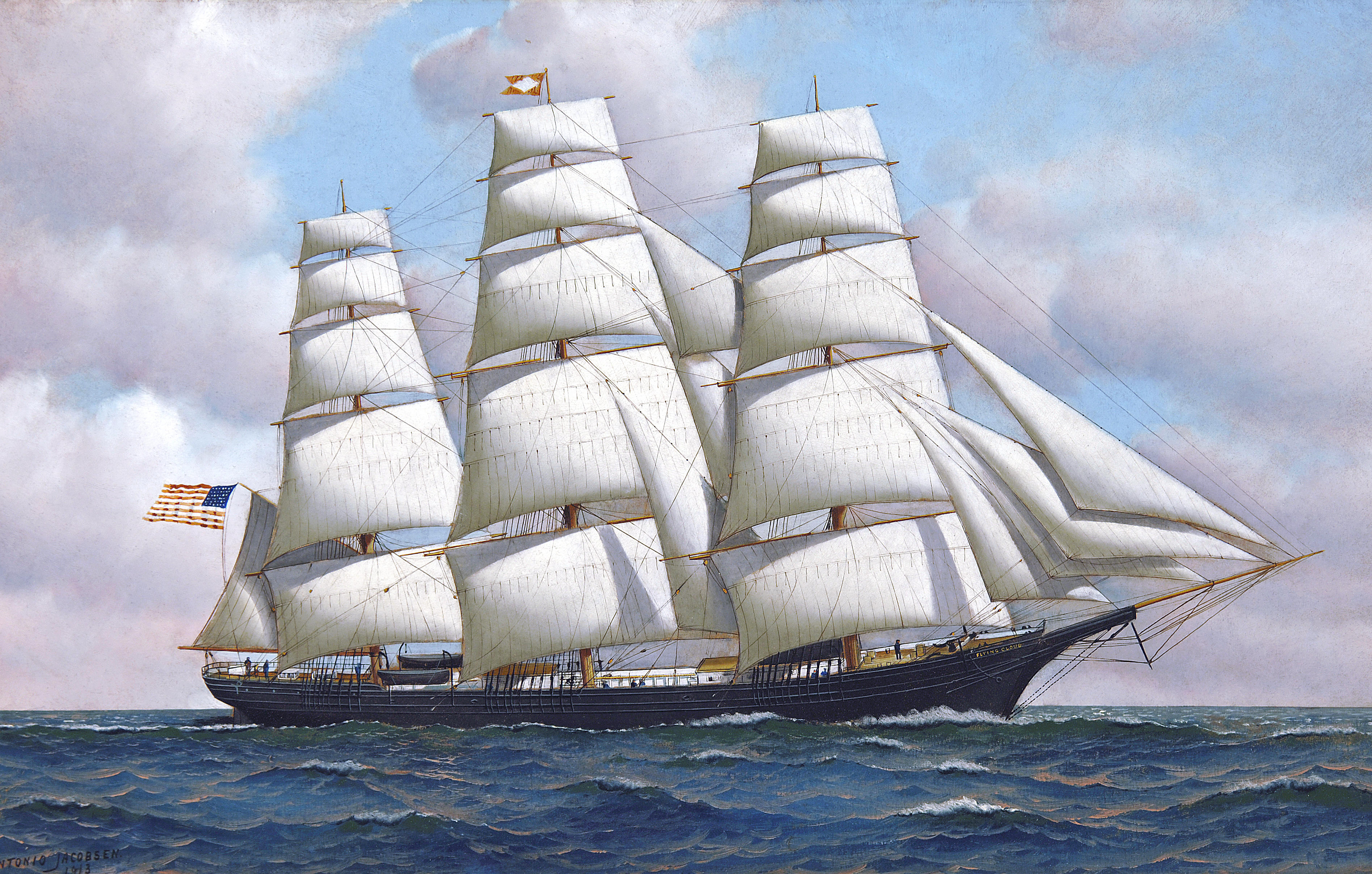 Ship Paintings For Sale Uk