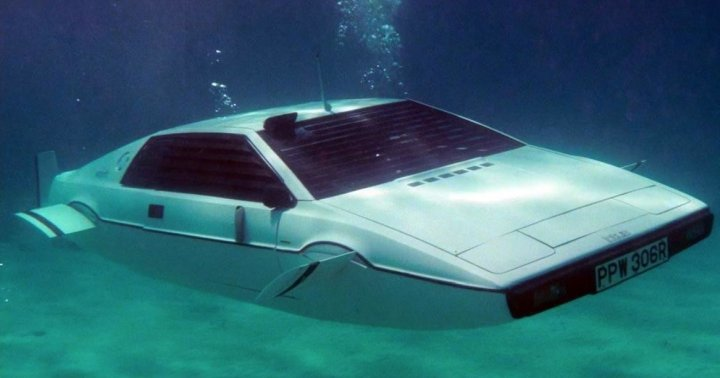 Lotus Esprit submarine (The Spy Who Loved Me, 1977)