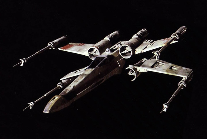 X-Wing (Star Wars IV, 1977)